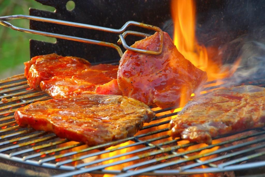 cách nướng thịt không bị khói